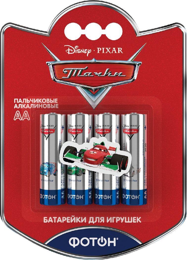 Фотон Элемент питания LR6 ВP4 Тачки + наклейка22852– Долго работают в игрушках– Под сильным детским брендом – Объемная наклейка в каждой упаковке! (серия из 14 наклеек героев м/ф)– Напряжение – 1,5V– Химический тип батареек - щелочно-марганцевые– Рекомендуемая t хранения - от -30 до +50°С– Рекомендуемая t эксплуатации - от -18 до +50°С– Срок хранения – 7 лет