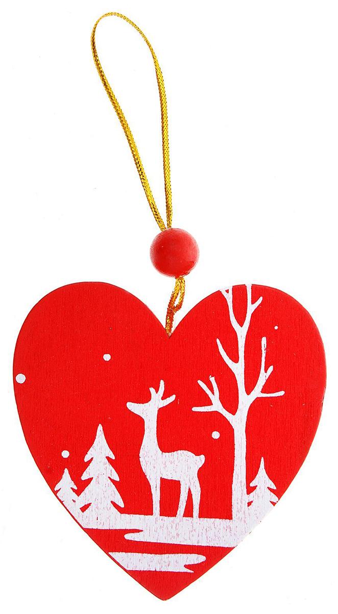 Украшение новогоднее подвесное NoName Зимний лес полон чудес, 7,5 х 0,5 х 7,5 см1032651Новогоднее подвесное украшение NoName Зимний лес полон чудес выполнено из натуральной древесины. С помощью специальной петельки украшение можно повесить в любом понравившемся вам месте. Но, конечно, удачнее всего оно будет смотреться на праздничной елке.Елочная игрушка - символ Нового года. Она несет в себе волшебство и красоту праздника. Создайте в своем доме атмосферу веселья и радости, украшая новогоднюю елку нарядными игрушками, которые будут из года в год накапливать теплоту воспоминаний.