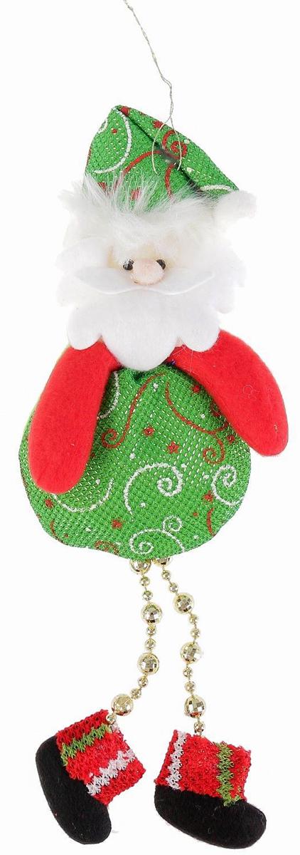 Подвесное украшение праздничное Пухляш-Дед Мороз. Ножки-бусинки, 8 х 15 см2388988Невозможно представить нашу жизнь без праздников! Мы всегда ждем их и предвкушаем, обдумываем, как проведем памятный день, тщательно выбираем подарки и аксессуары, ведь именно они создают и поддерживают торжественный настрой. Это отличный выбор, который привнесет атмосферу праздника в ваш дом!