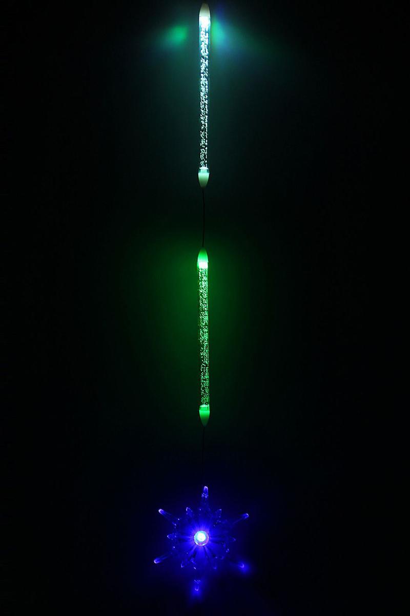 Украшение новогоднее подвесное NoName Снежинка, с подсветкой, 8 х 8 см. 830722830722Новогоднее подвесное украшение NoName Снежинка с помощью специальной петельки можно повесить в любом понравившемся вам месте. Но, конечно, удачнее всего оно будет смотреться на праздничной елке. Изделие оснащено подсветкой.Елочная игрушка - символ Нового года. Она несет в себе волшебство и красоту праздника. Создайте в своем доме атмосферу веселья и радости, украшая новогоднюю елку нарядными игрушками, которые будут из года в год накапливать теплоту воспоминаний.Батарейки в комплекте.