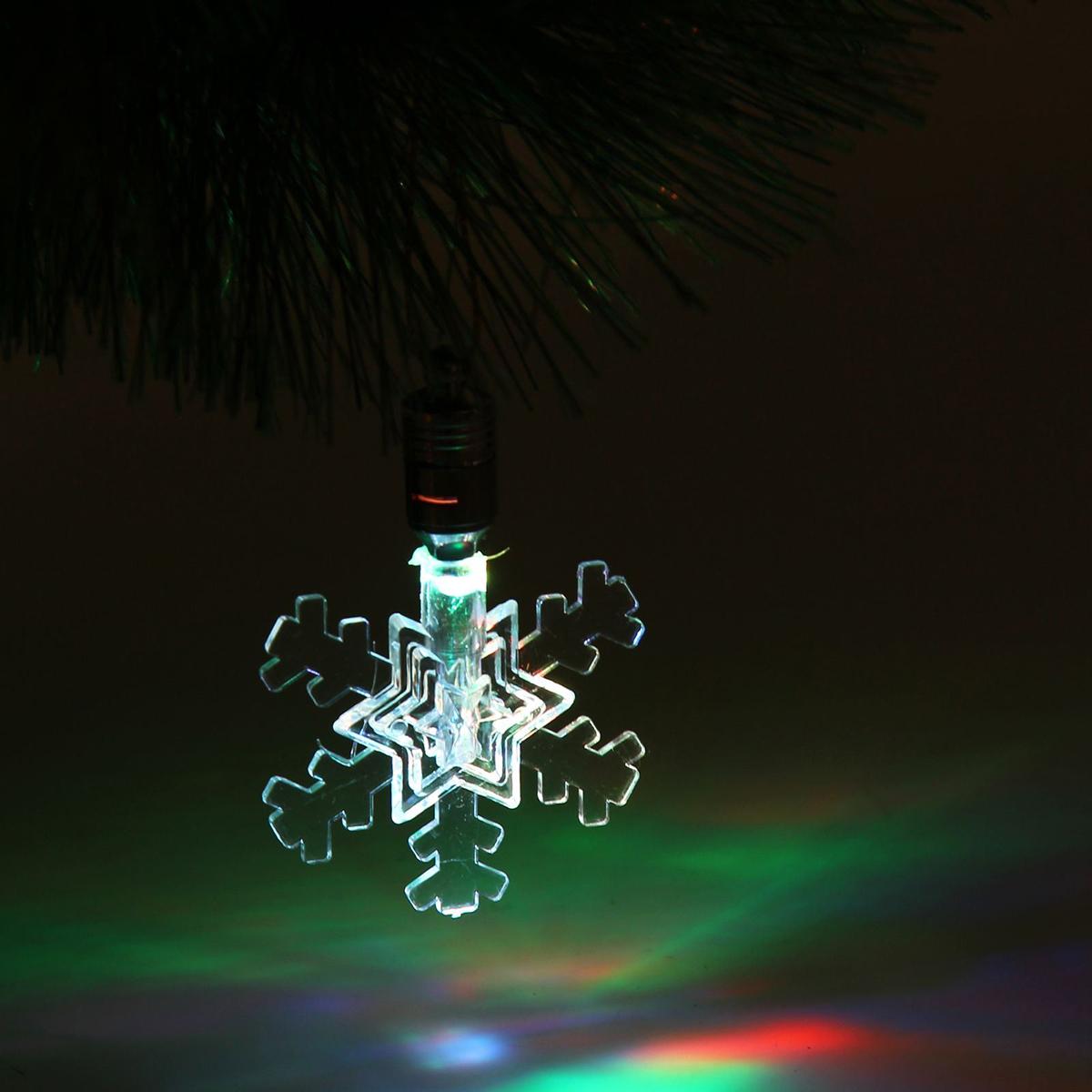 Подвесное украшение праздничное Luazon Lighting Снежинка малая, с подсветкой1077312Невозможно представить себе современный мир без электроприборов. Благодаря качественным материалам и работе дизайнеров они способны сделать нашу жизнь комфортнее и порадовать глаз. Это прекрасный выбор, если вы находитесь в поиске товара, который идеально впишется в ежедневную жизнь и прослужит долго.Батарейки в комплекте 1 LED, RGB.