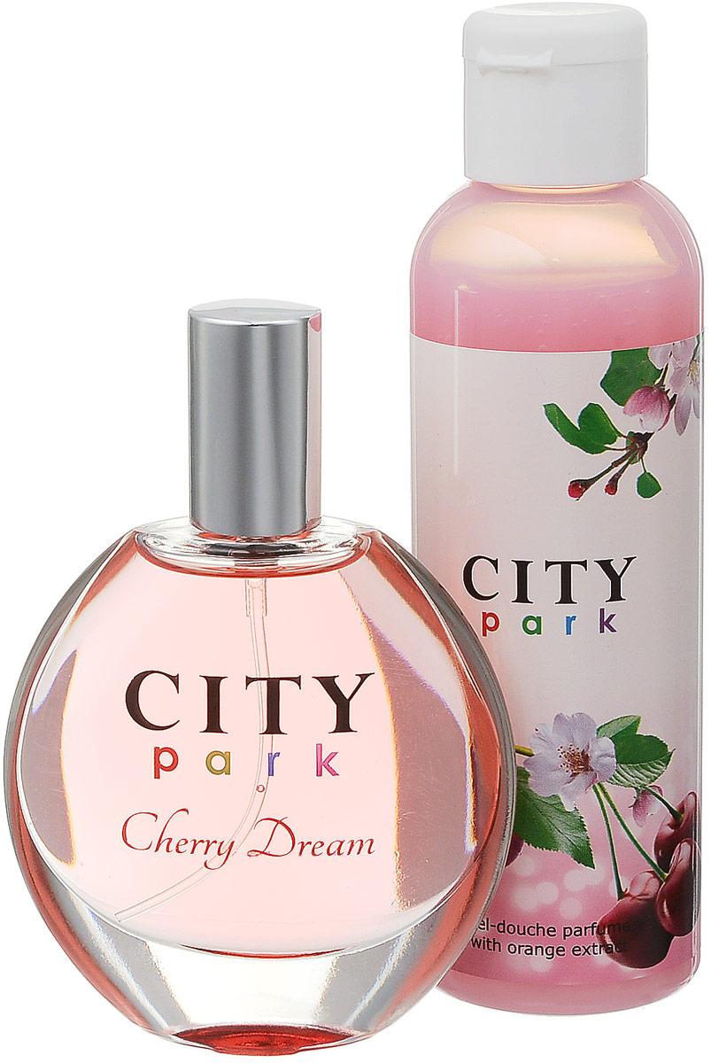 City Parfum Парфюмированный набор: City Park Cherry Dream Туалетная вода, 50 мл + Гель для душа, 150 мл salt lake city park city provo