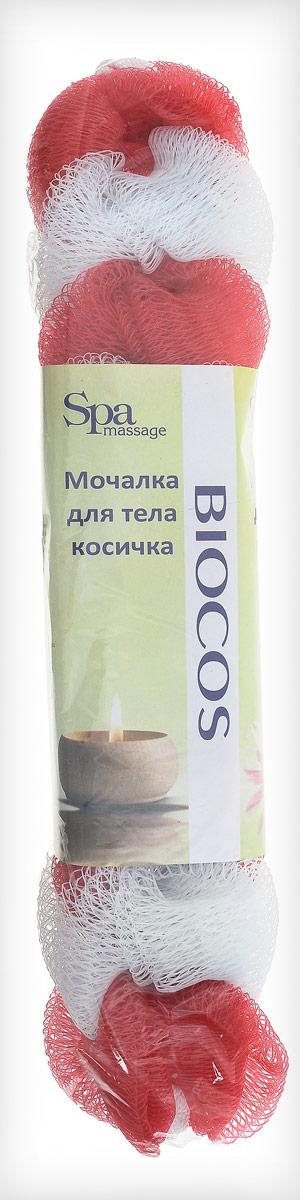 BioCos Мочалка для тела Косичка, цвет: белый, красный5955_белый, красныйМочалка для тела BioCos Косичка обладает тонизирующим эффектом. Подходит для ежедневного применения. Деликатно и нежно очищает кожу, легко вспенивает даже небольшое количество геля или мыла. Обладает приятным отшелушивающим эффектом, мочалка массирует кожу, снимая усталость и напряжение. Служит долго, сохраняя свою первоначальную форму.Перед использованием размочить в горячей воде. После применения тщательно промыть под струей воды и высушить.Состав: безузловая сетка.
