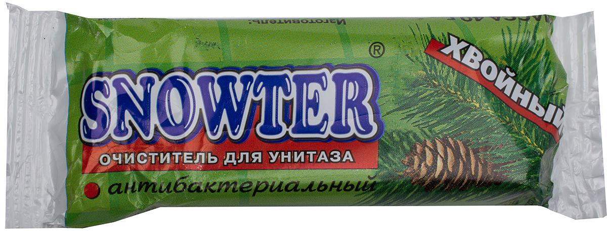 Очиститель для унитаза Snowter, запасной блок, хвоя, 40 г бытовая химия snowter очиститель для унитазов хвоя свежесть запасной блок подвеска 40 г