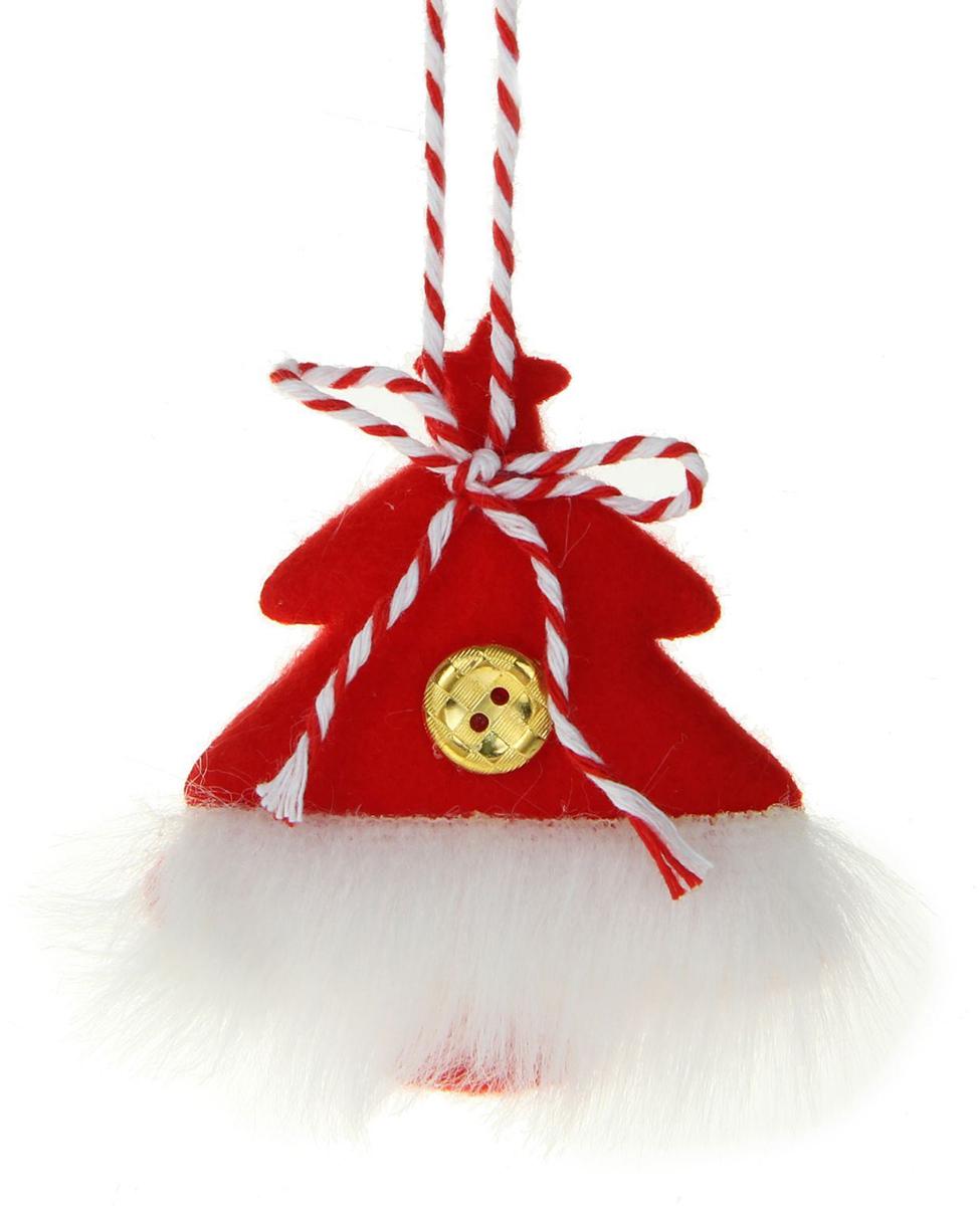 Украшение новогоднее Пушистая елочка1381155Ничто так не преображает торжество, как очаровательные новогодние игрушки. Мягкое украшение наполнит праздничный интерьер уютом. Используйте его отдельно или повесьте на елку. Оригинальный декор создаст чудесное настроение. Ведь праздник складывается из милых сердцу мелочей.