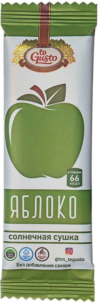 te Gusto фруктовый батончик из яблока, 25 г