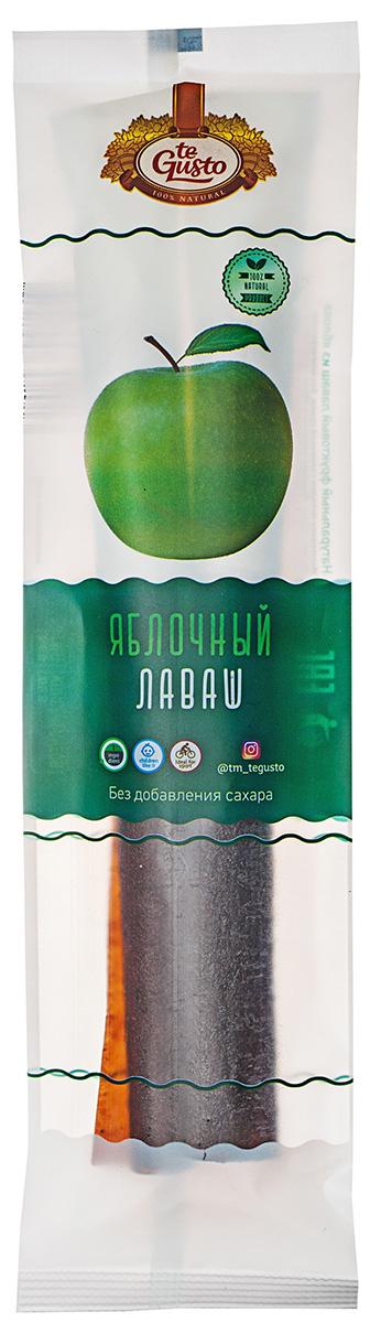 te Gusto лаваш яблочный, 70 г4657155302013Фруктовый Лаваш te Gusto без ГМО, глютена, сои, сахара, фруктозы, красителей, усилителей вкуса, загустителей. В составе только один ингредиент – плод, выращенный в экологически чистом районе. Особый способ измельчения плодов позволяет сохранить витамины в первозданном виде.Данный продукт создан для людей, ведущих здоровый образ жизни и уделяющих большое внимание своему питанию.Для спортсменов это полезный и питательный перекус, для вегетарианцев – сладость, не содержащая продуктов животного происхождения, для детей – натуральное лакомство, которое единожды попробовав, они предпочитают шоколадкам, и для всех, вне зависимости от возраста и систем питания – здоровый продукт без красителей, консервантов и подсластителей.