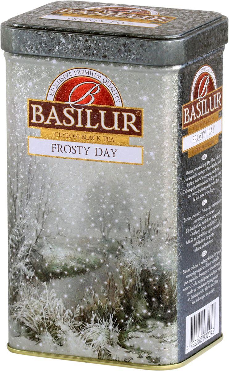 Basilur Frosty Day черный листовой чай, 85 г термоконтейнер для банок и бутылок asobu frosty to 2 go chiller цвет черный