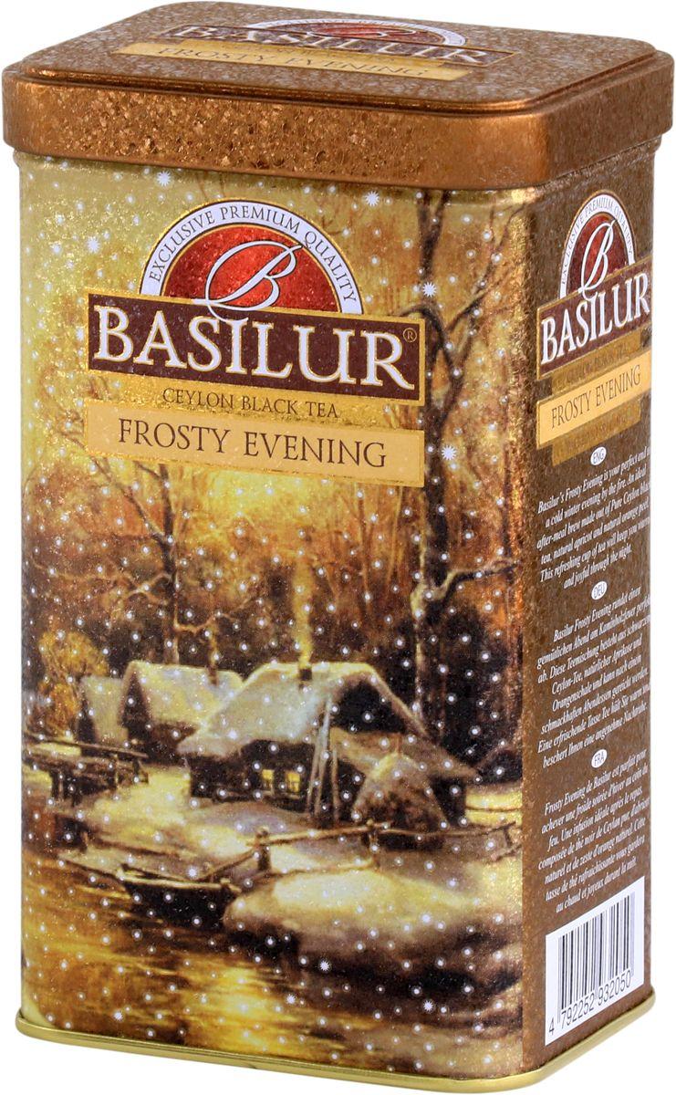 Basilur Frosty Evening черный листовой чай, 85 г термоконтейнер для банок и бутылок asobu frosty to 2 go chiller цвет черный