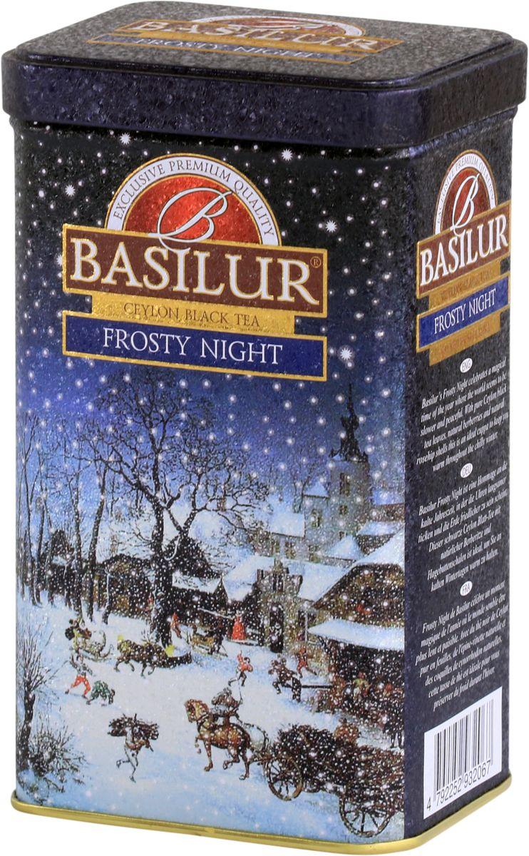 Basilur Frosty NichtI черный листовой чай, 85 г