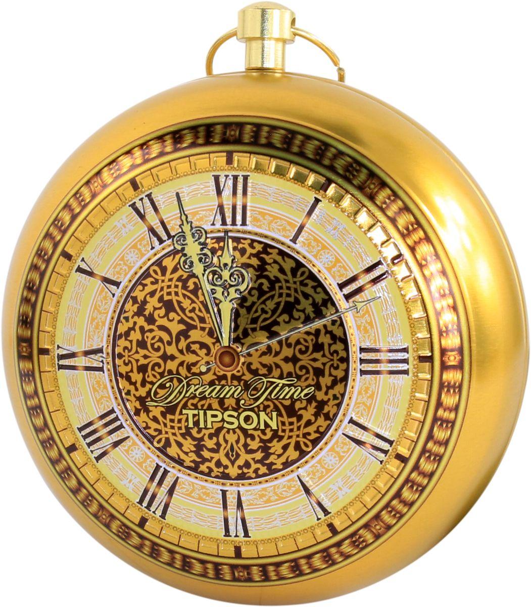 Tipson Dream Time Collection Clocks Gold черный листовой чай, 30 г80140-00Коллекция Время мечты создана специально для проявления внимания. Маленькие часики приятно подарить и близким и друзьям и коллегам. Как презент будут актуальны на любое торжество, а также можно использовать в виде украшения на новогоднюю елку. Побалуйте себя хорошим чаем с острова Цейлон со вкусом цитрусовых.
