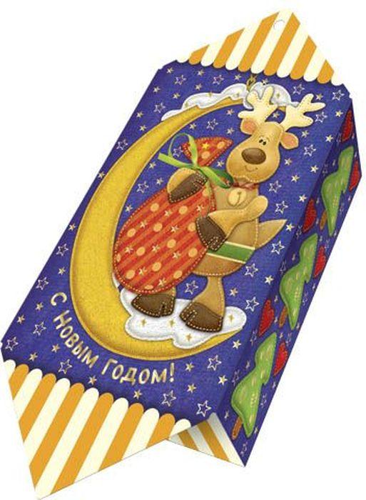 Сладкий новогодний подарок Волшебный месяц (Олень), 200 г1538Новогодние подарки в картонной упаковке считаются самыми популярными для поздравления детей в детских садах и школах, и с каждым годом остаются лидерами продаж. Сладкий Новогодний подарок  Волшебный месяц  200 гр. очарует любого малыша своей яркой, разноцветной упаковкой, а прекрасно подобранный состав кондитерских изделий от самых известных производителей позволит в полной мере насладиться праздником. Прекрасный вариант поздравления детей на утренниках в детских садах и школах.Уважаемые клиенты! Обращаем ваше внимание на возможные изменения в дизайне упаковки. Качественные характеристики товара остаются неизменными. Поставка осуществляется в зависимости от наличия на складе.
