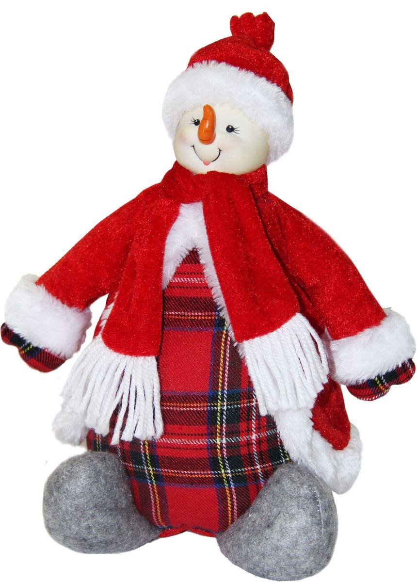 Сладкий новогодний подарок мягкая игрушка Европейская коллекция Снеговик, 400 г1601Как удивить и порадовать ребенка в главный зимний праздник? Представляем вашему вниманию необычный новогодний подарок – сладости в мягкой игрушке. Это сразу два сюрприза в одном! В качестве вкусной начинки прекрасно подобранный состав кондитерских изделий от самых известных производителей, который. Прекрасный вариант поздравления детей на утренниках в детских садах, школах и на новогодних елках.