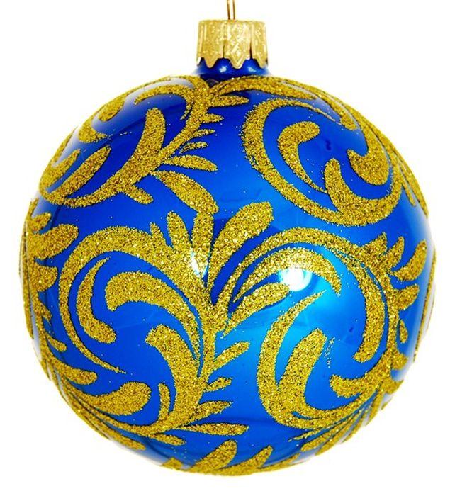 Украшение новогоднее подвесное Снежная Королева на синем, ручная работа, диаметр 10 смH-100-260331-S-Снежная Королева на синем золотомНовогоднее украшение Снежная Королева на синем ручной работы, выполненное из стекла, отлично подойдет для декорации вашего дома и новогодней ели. С помощью специальной петельки украшение можно повесить в любом понравившемся вам месте. Но, конечно, удачнее всего оно будет смотреться на праздничной елке.Елочная игрушка - символ Нового года. Она несет в себе волшебство и красоту праздника. Такое украшение создаст в вашем доме атмосферу праздника, веселья и радости.