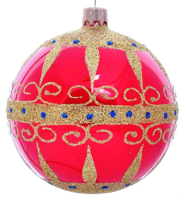 Украшение новогоднее подвесное Клавдиево Восточный на красном, ручная работа, диаметр 10 смH-100-2984-S-Восточный на красномНовогоднее украшение Восточный на красном ручной работы, выполненное из стекла, отлично подойдет для декорации вашего дома и новогодней ели. С помощью специальной петельки украшение можно повесить в любом понравившемся вам месте. Но, конечно, удачнее всего оно будет смотреться на праздничной елке.Елочная игрушка - символ Нового года. Она несет в себе волшебство и красоту праздника. Такое украшение создаст в вашем доме атмосферу праздника, веселья и радости.