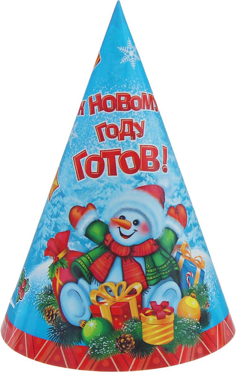 Колпак Страна Карнавалия К Новому году готов. Снеговик1481933Невозможно представить нашу жизнь без праздников! Мы всегда ждем их и предвкушаем, обдумываем, как проведем памятный день, тщательно выбираем подарки и аксессуары, ведь именно они создают и поддерживают торжественный настрой. Это отличный выбор, который привнесет атмосферу праздника в ваш дом!