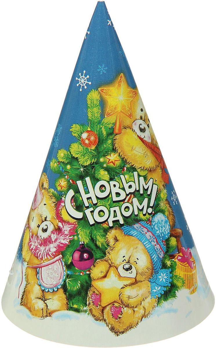 Колпак Страна Карнавалия С Новым годом. Медвежата1481930Невозможно представить нашу жизнь без праздников! Мы всегда ждем их и предвкушаем, обдумываем, как проведем памятный день, тщательно выбираем подарки и аксессуары, ведь именно они создают и поддерживают торжественный настрой. Это отличный выбор, который привнесет атмосферу праздника в ваш дом!