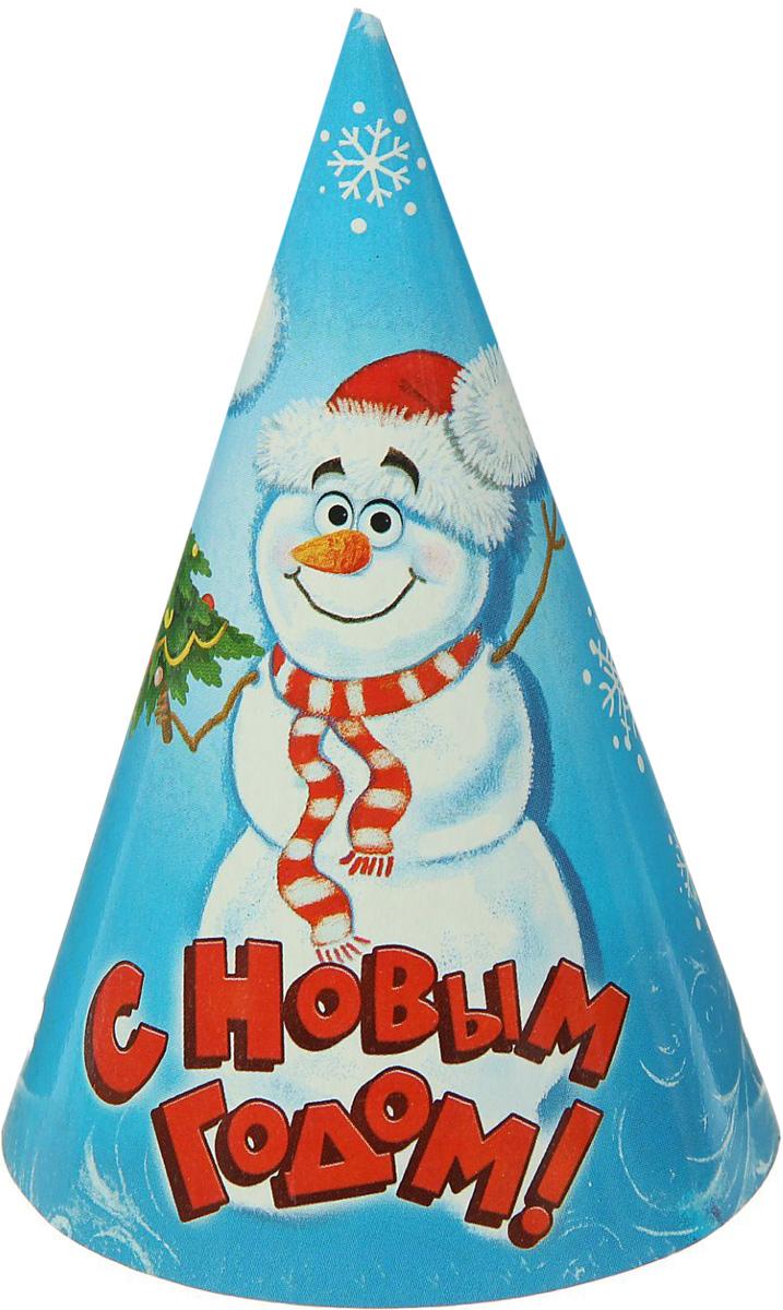Колпак Страна Карнавалия С Новым годом. Снеговик1481931Невозможно представить нашу жизнь без праздников! Мы всегда ждем их и предвкушаем, обдумываем, как проведем памятный день, тщательно выбираем подарки и аксессуары, ведь именно они создают и поддерживают торжественный настрой. Это отличный выбор, который привнесет атмосферу праздника в ваш дом!