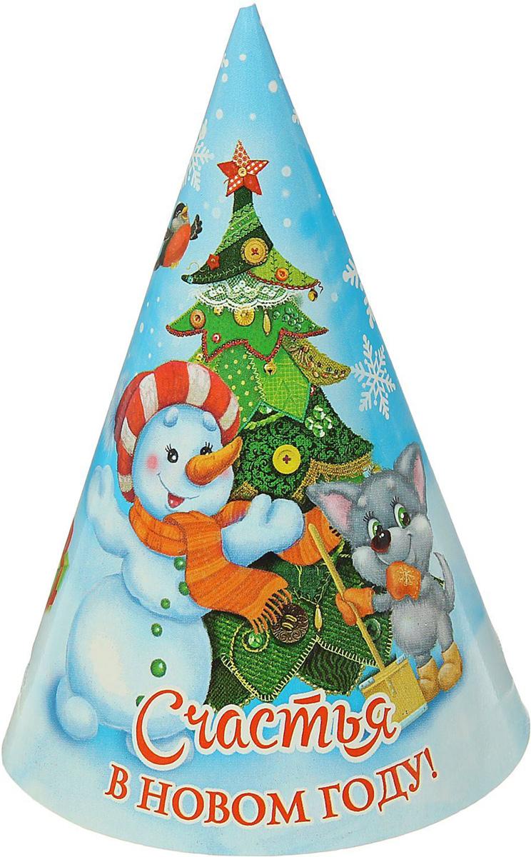 Колпак Страна Карнавалия Счастья в Новом году. Елочка1481928Невозможно представить нашу жизнь без праздников! Мы всегда ждем их и предвкушаем, обдумываем, как проведем памятный день, тщательно выбираем подарки и аксессуары, ведь именно они создают и поддерживают торжественный настрой. Это отличный выбор, который привнесет атмосферу праздника в ваш дом!