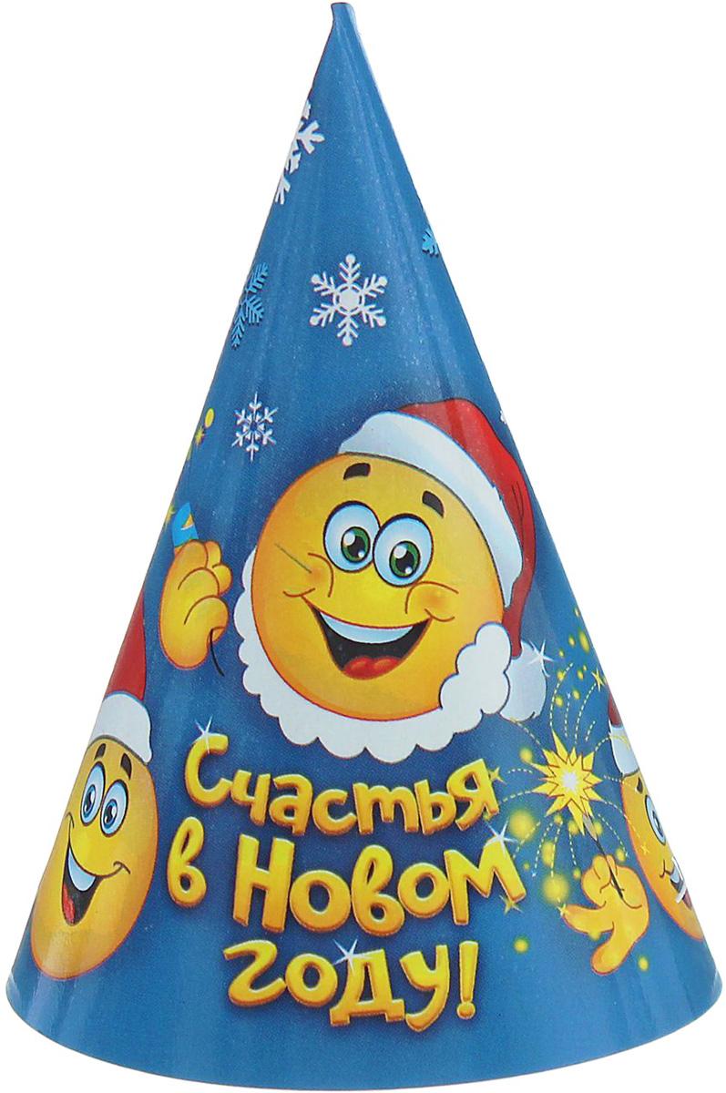Колпак Страна Карнавалия Счастья в Новом году. Смайлики1481932Невозможно представить нашу жизнь без праздников! Мы всегда ждем их и предвкушаем, обдумываем, как проведем памятный день, тщательно выбираем подарки и аксессуары, ведь именно они создают и поддерживают торжественный настрой. Это отличный выбор, который привнесет атмосферу праздника в ваш дом!