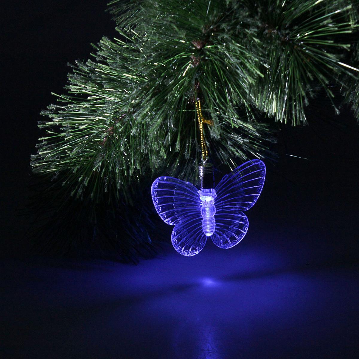 Украшение подвесное Luazon Бабочка, с подсветкой704846Маленькая, но яркая подвеска-бабочка нежно светится в темноте, добавляяубранству комнаты таинственности и уюта. Оригинальная форма позволяетиспользовать ее и в качестве новогоднего украшения для праздничной елки вдекабре, и как дополнительный источник света круглый год. Удобное крепление- петелька позволяет размещать такое украшение где угодно! Подвеска-бабочкасияет и меняет цвет, она станет достойным акцентом в интерьере вашей спальниили необычным ночником в детской. Батарейки: 3 штуки в комплекте, тип батареек: LR-41.