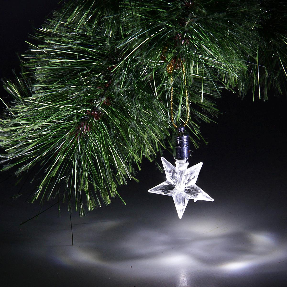 Украшение подвесное Luazon Звезда, с подсветкой704848Невозможно представить себе новогодний декор без звездочек! Они повсюду – вгирляндах и на подарочной упаковке, на вершине елки и на оконных стеклах. Дополните интерьер оригинальными светящимися подвесками-звездочками.Удобное крепление-петелька позволяет размещать такое украшение где угодно!Особенно выигрышно смотрится множество сияющих звездочек под потолком.Причем такую красоту совершенно необязательно снимать после 14 января –пусть частичка сказки останется с вами круглый год! Размер: 8 см, Батарейки: 3 штуки в комплекте, Тип батареек: LR-41.