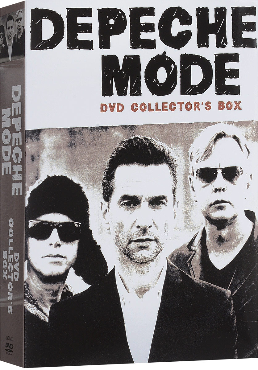 Depeche Mode: DVD Collector's Box (2 DVD) вверх dvd box