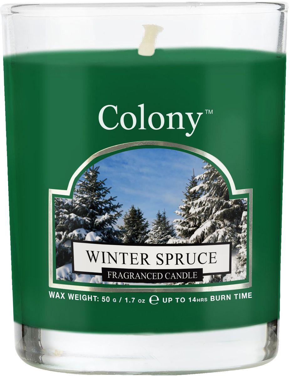 Свеча ароматическая лампадная Wax Lyrical Зимняя ель, высота 6,5 см свеча ароматическая лампадная wax lyrical свежий лен 14 часов 130 г