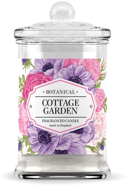 Свеча ароматическая Wax Lyrical Загородный сад, высота 14,6 смJV0302-3Свеча ароматическая Загородный сад 60 часов горения– это очарование освежающей зелени и тончайших ноток нежного ландыша.