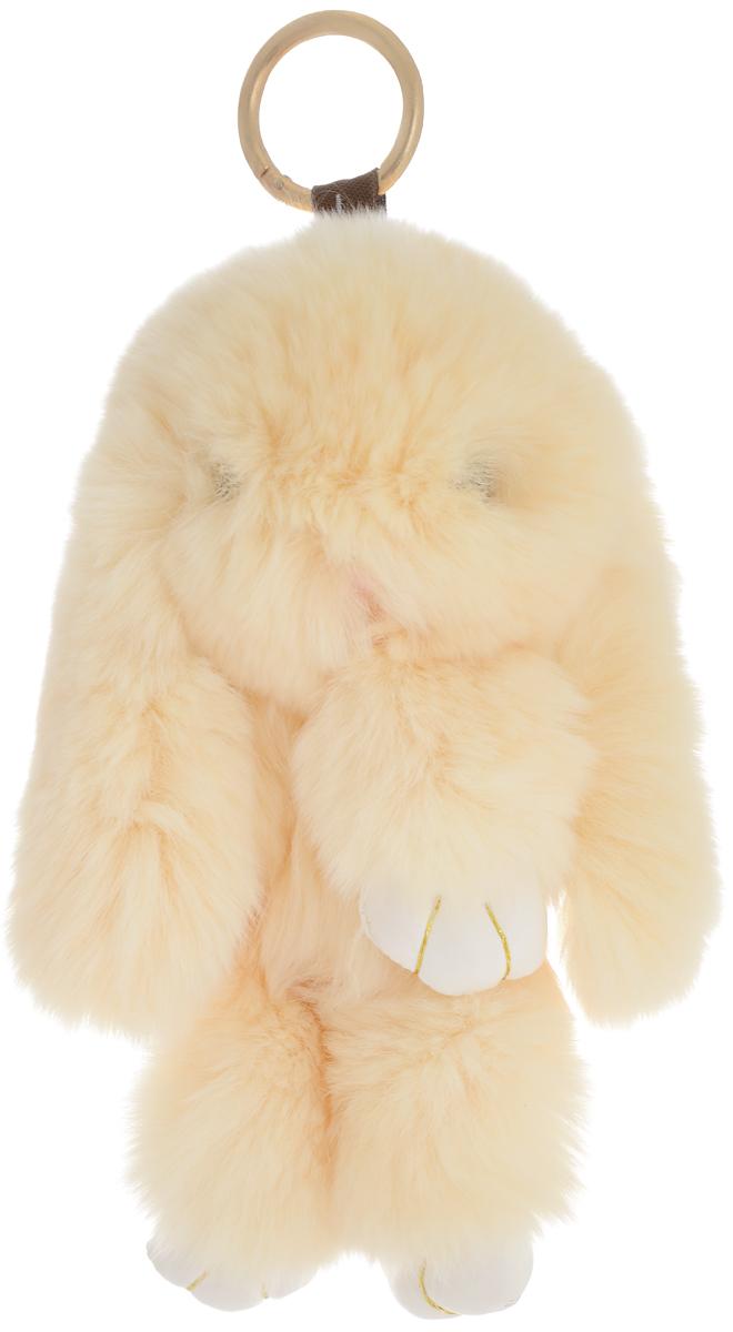 Фото Vebtoy Брелок Пушистый кролик цвет бежевый