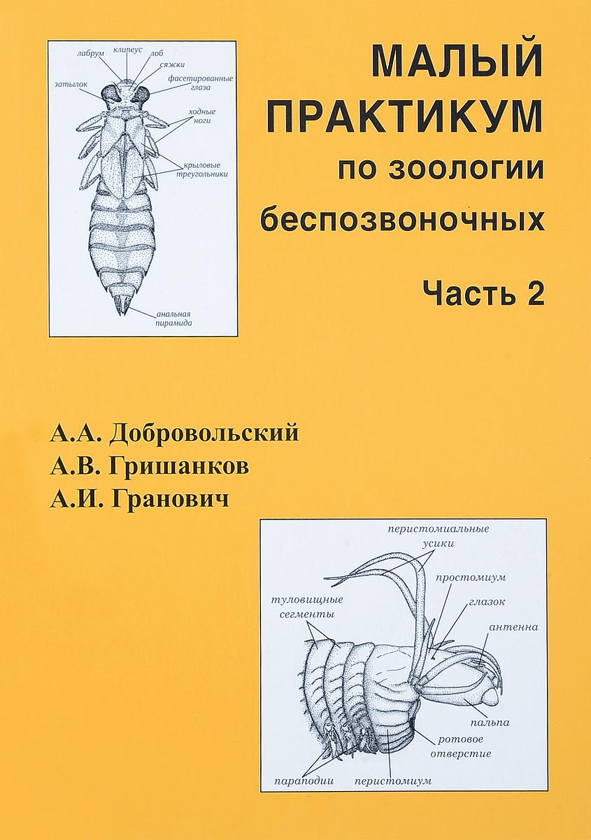 Малый практикум по зоологии беспозвоночных. Часть 2
