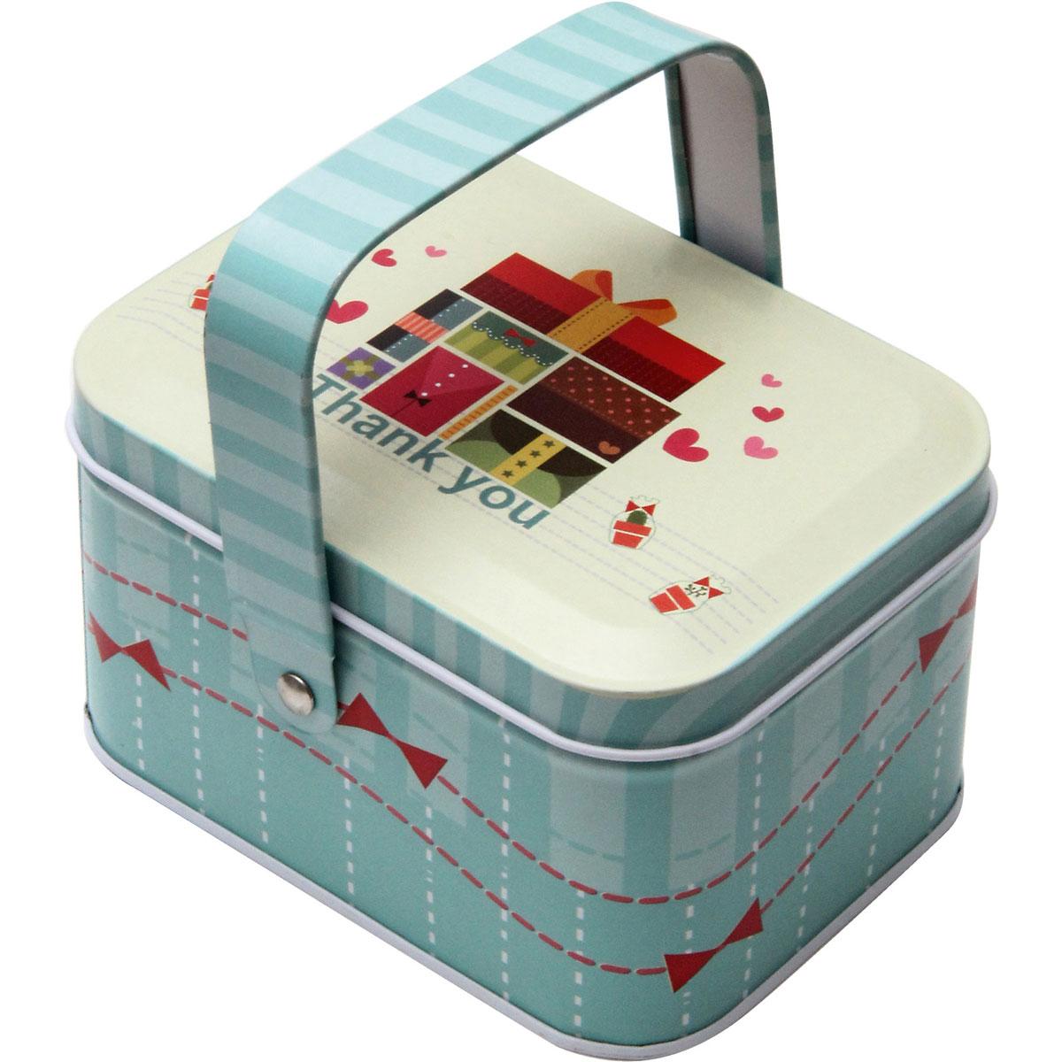 Коробка для хранения мелочей Феникс-Презент Подарки, 10,5 x 8 x 6 см