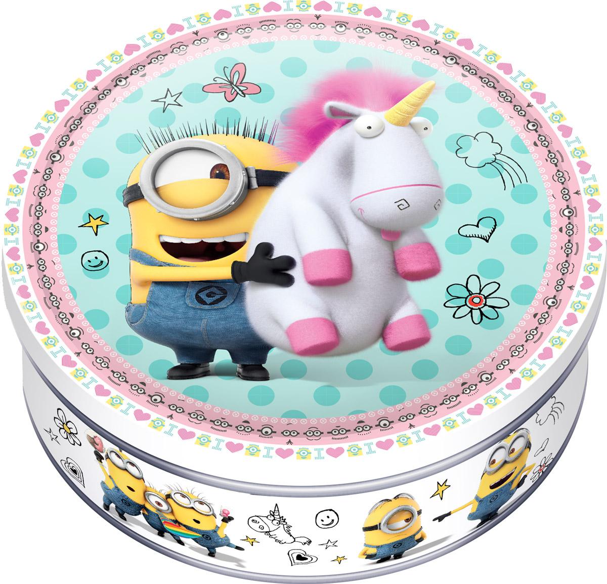 Minions печенье сдобное с шоколадом, 150 г mymei 1 комплект 12шт набор гадкий я 2 миньоны рисунок игрушки в розницу 96408