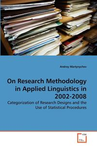 On Research Methodology in Applied Linguistics in 2002-2008 sociobiogenetic linguistics
