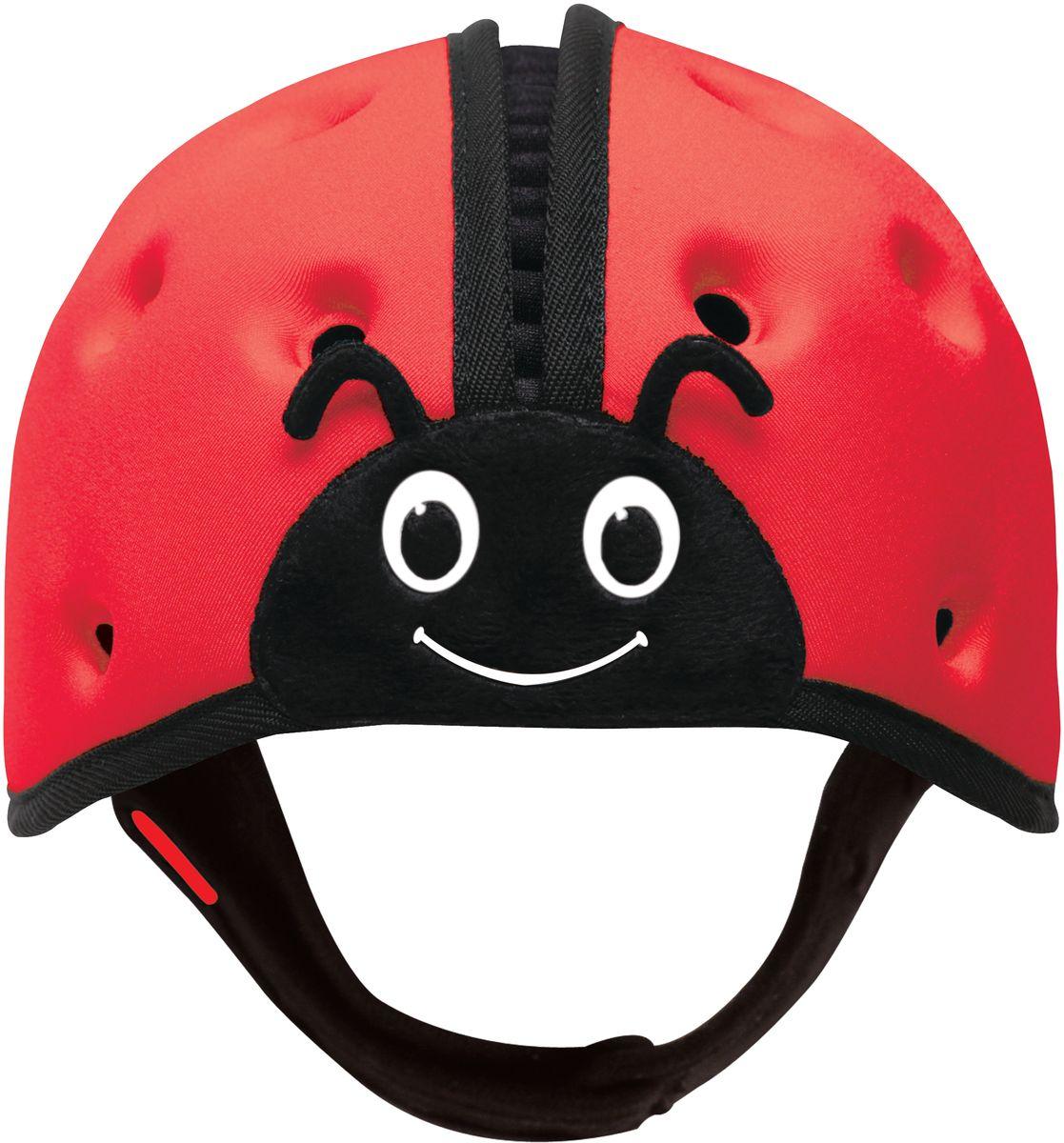 SafeheadBABY Шапка-шлем Божья коровка цвет красный