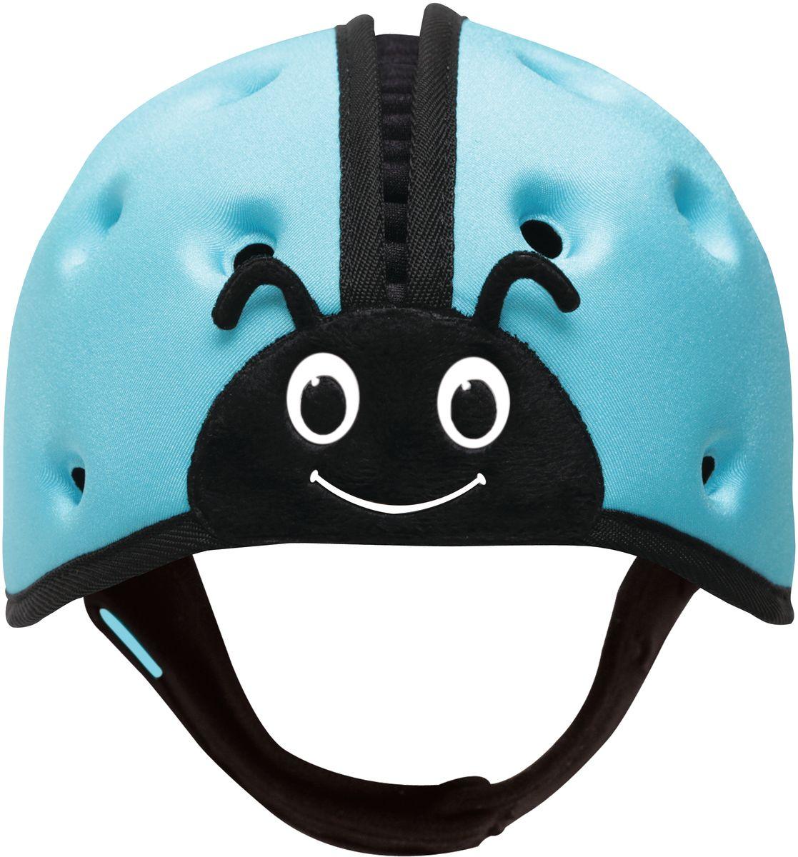 SafeheadBABY Шапка-шлем Божья коровка цвет голубой
