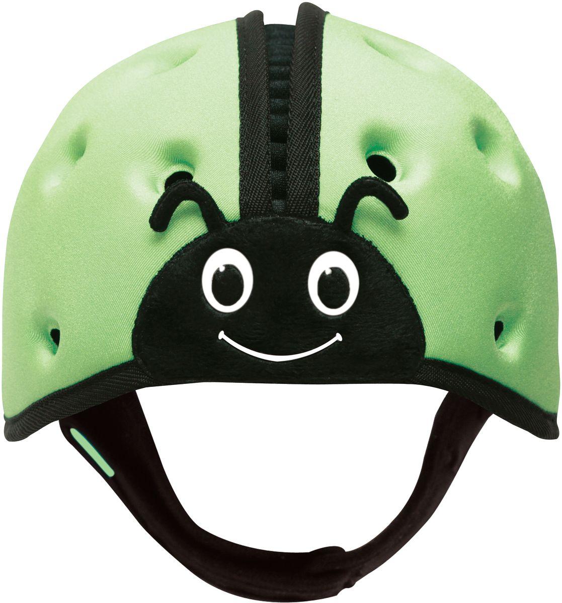 SafeheadBABY Шапка-шлем Божья коровка цвет зеленый