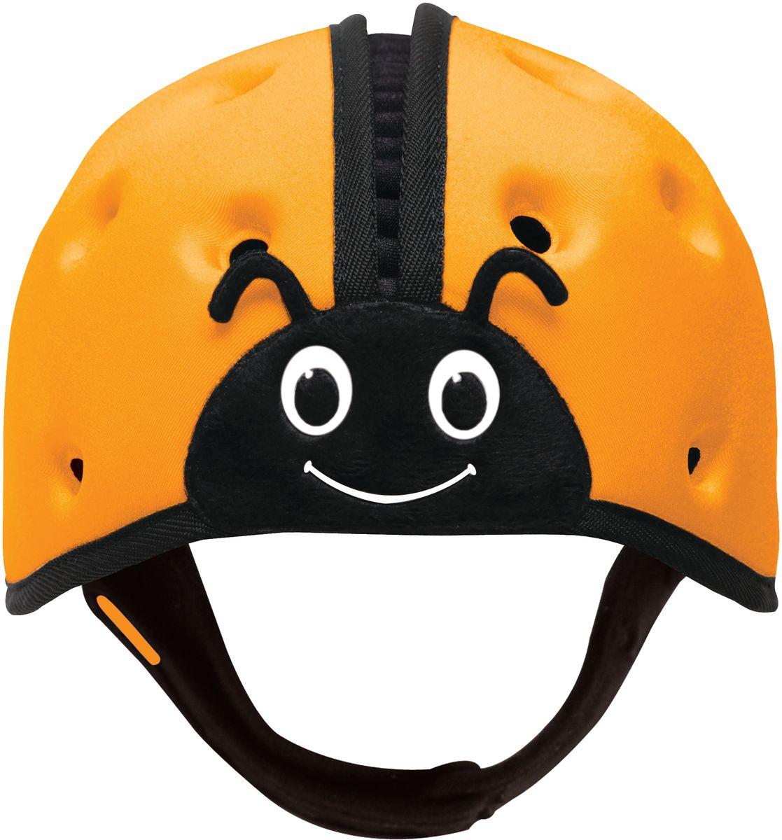 SafeheadBABY Шапка-шлем Божья коровка цвет оранжевый