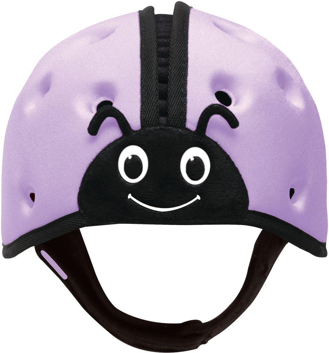 SafeheadBABY Шапка-шлем Божья коровка цвет фиолетовый