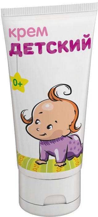 Мамина Радость Крем детский 50 мл4650070510211Крем детский специально предназначен для ухода за нежной кожей малыша. Экстракты ромашки и череды, в составе крема, успокаивают кожу ребёнка. Лецитин смягчает и увлажняет, масла оливы и сои предотвращают сухость и шелушение.