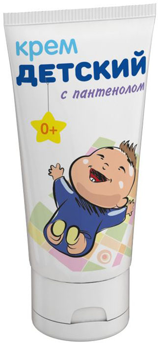 Мамина Радость Крем детский с пантенолом 50 мл4650070510228Крем детский с пантенолом предназначен для ухода за сухой и чувствительной кожей малыша. Комплекс д-пантенола и маcла оливы в составе крема бережно ухаживают за кожей ребёнка, увлажняет, успокаивает, поддерживает её здоровое состояние.