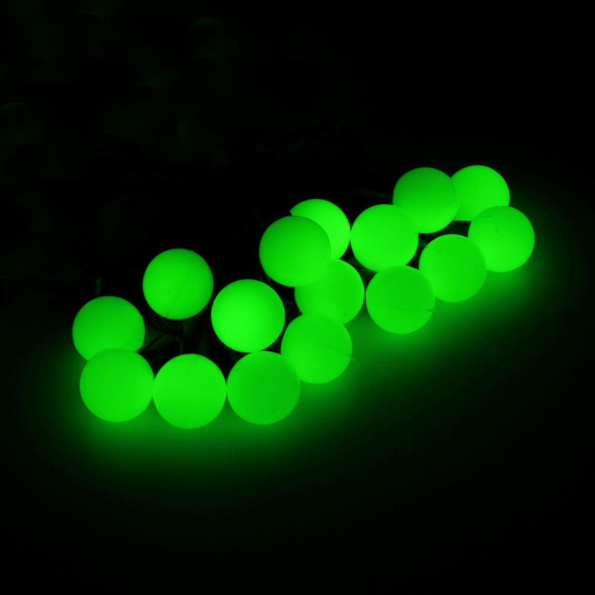 Гирлянда светодиодная Luazon Метраж. Шарики, уличная с насадкой, 8 режимов, 200 ламп, 20 м, цвет: зеленый. 705955705955Светодиодные гирлянды, ленты и т.д. — это отличный вариант для новогоднего оформления интерьера или фасада. С их помощью помещение любого размера можно превратить в праздничный зал, а внешние элементы зданий, украшенные ими, мгновенно станут напоминать очертания сказочного дворца. Такие украшения создают ауру предвкушения чуда. Деревья, фасады, витрины, окна и арки будто специально созданы, чтобы вы украсили их светящимися нитями.