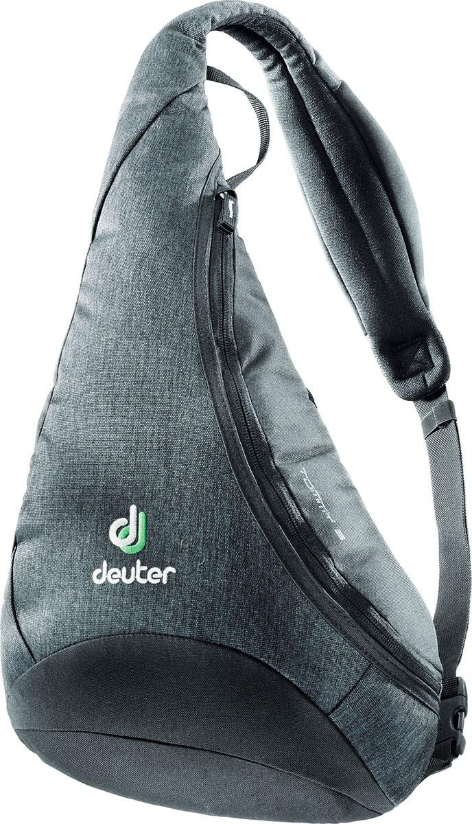 Рюкзак туристический Deuter Tommy, цвет: серый, 5 л81203_7712Рюкзак туристический Deuter Tommy.Универсальная сумка-рюкзак - одна регулируемая лямка - фронтальный карман на молнии с органайзером - карман на молнии сзади - карман на лямке.Объем: 5 л.
