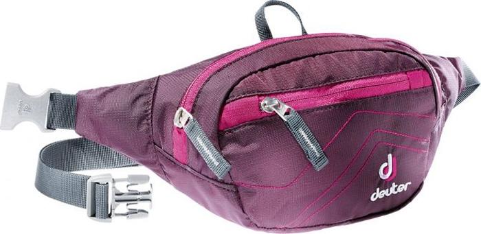 Сумка поясная Deuter Belt I, цвет: фиолетовый, 1,5 л