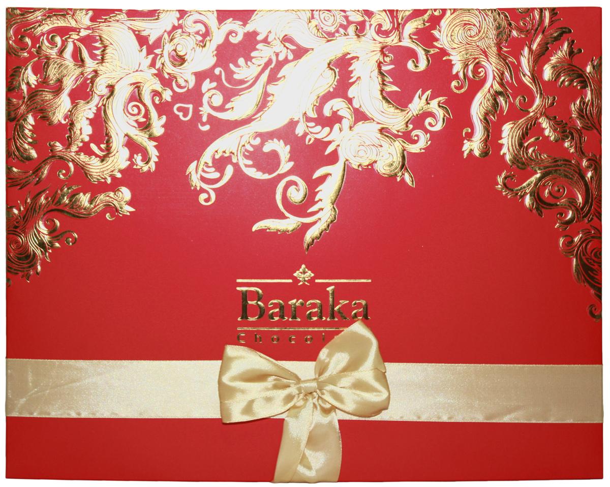 Baraka Симорх ассорти шоколадных конфет, 245 г масло амлы для волос baraka
