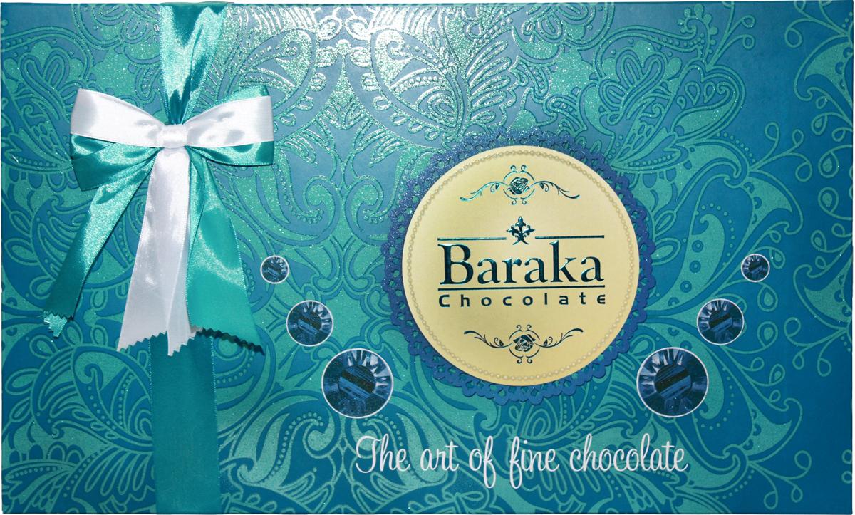 Baraka Бриллиант ассорти шоколадных конфет, 320 г chokocat с днем рождения темный шоколад 85 г