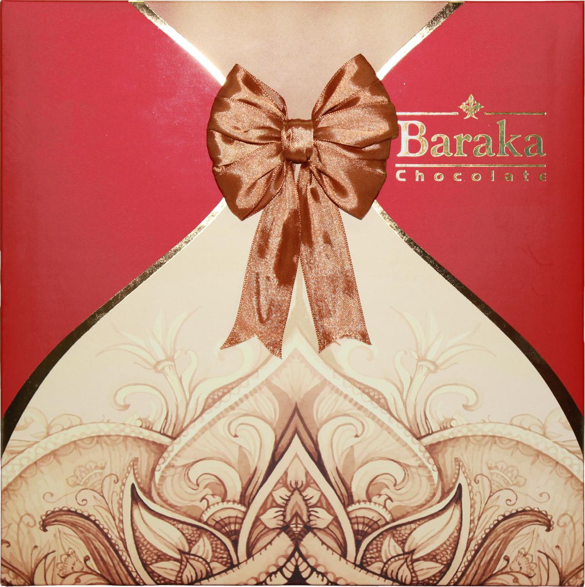 Baraka Бану ассорти шоколадных конфет, 240 г7.23.27Ассорти из молочного и темного шоколада.