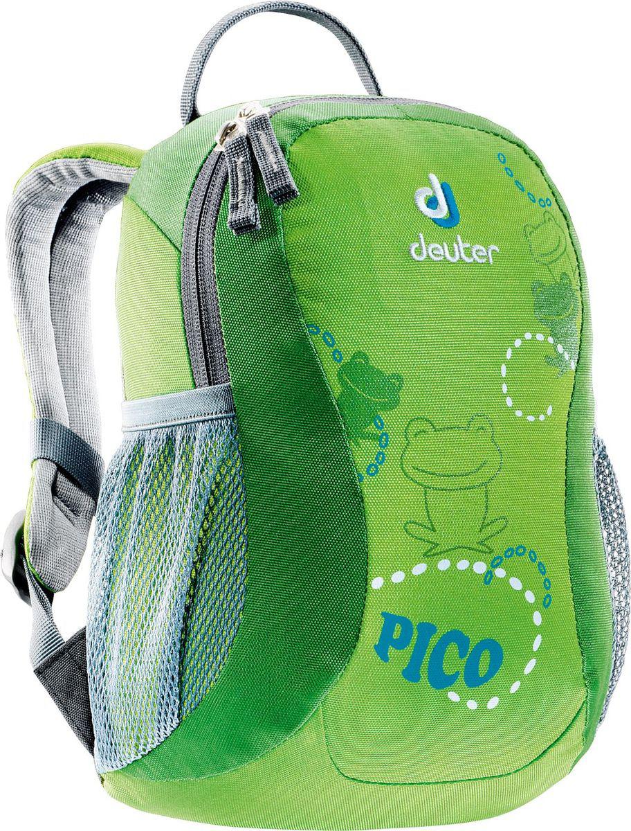 Рюкзак туристический Deuter Pico, цвет: салатовый, 5 л туристический рюкзак deuter 80419 giga