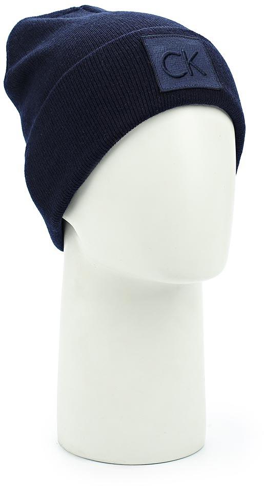 где купить Шапка мужская Calvin Klein Jeans, цвет: синий. K50K503209_411. Размер универсальный по лучшей цене