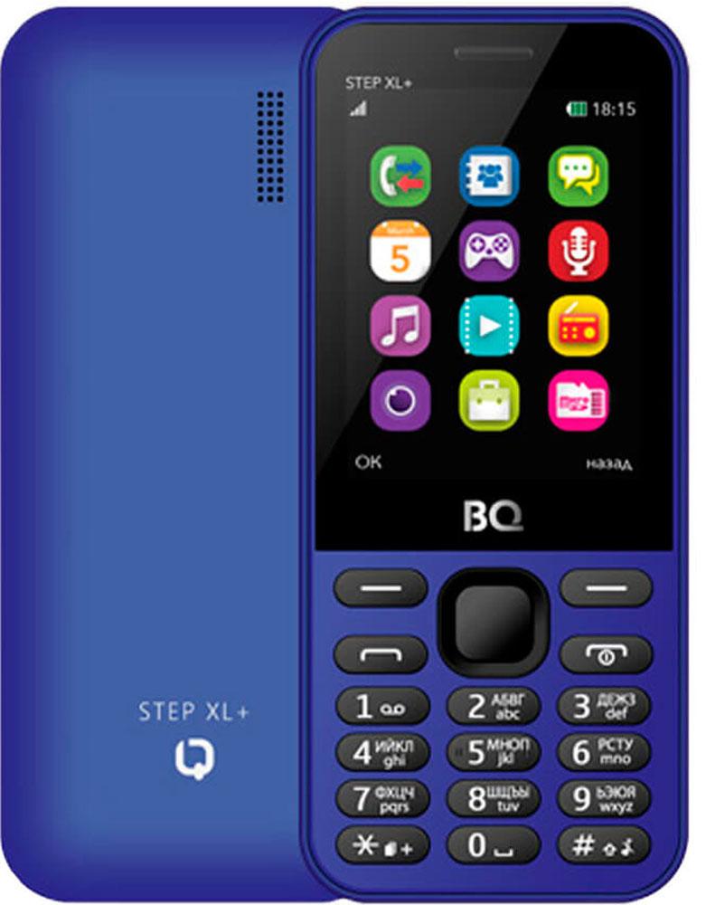 BQ 2831 Step XL+, Dark Blue46613457BQ-2831 Step XL+ станет для вас верным другом и надежным помощником. Батарея 1000 мАч обеспечивает несколько дней активной работы.Большая диагональ экрана в 2,8 позволяет использовать телефон даже людям со слабым зрением. В число дополнительных возможностей телефона входят поддержка bluetooth-соединения, FM-радиоприемник. Совместимость с microSD-картами емкостью до 32 Гб позволяет использовать BQ-2831 Step XL+ как флеш-память.Телефон сертифицирован EAC и имеет русифицированную клавиатуру, меню и Руководство пользователя.